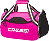 Cressi Kauai Bag' Sac de Sport de Taille Moyenne Adulte Unisexe, Rose/Noir, 45x22x25