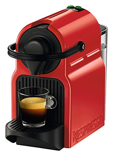Breville BEC120RED1AUC1 Inissia Espresso Machine, 100, Red
