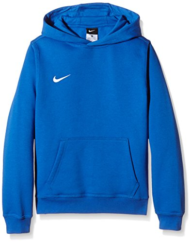 Nike Unisex Kinder Kapuzenpullover Team Club, Blau (Royal Blue/football White), L