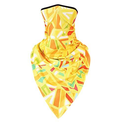 Crème solaire bandanas foulard masque extérieur serre-tête serre-tête serre-tête bandeau-A08