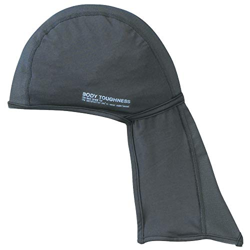 おたふく手袋 ボディタフネス 冷感・消臭 パワーストレッチ カバー付ヘッドキャップ グレー JW-613 f