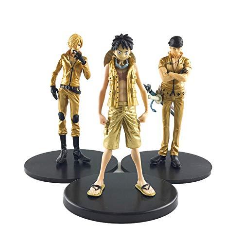 Anime Skulptur Modelo de Anime Figura One Piece 94 Generación 3 Modelos Luffy Sauron High 17CM OPP Bag