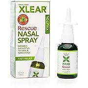 Xlear - Drug Free Fast Relief Sinus Rescue Nasal Spray with Xylitol - 1.5 fl. oz.