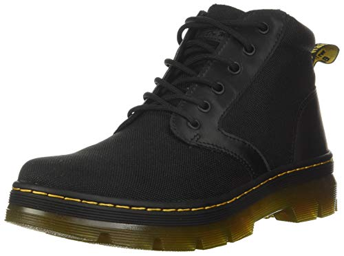 Dr. Martens unisex adult Bonny Chukka Boot, Black Extra Tough Poly+rubbery, 10 Women 9 Men US