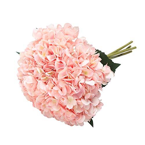 HUAESIN Fleur Marguerite Artificielle Rouge et Blanc Bouquet Fleur Artificielle pour/Ext/érieur Int/érieur Fleur Artificiel D/écoration Mariage Maison F/ête Composition Florale