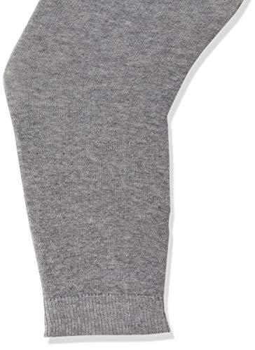 Melton Mädchen Basic Leggings, Grau (Light Grey Melange 135), 116 (Herstellergröße: 5-6Y)