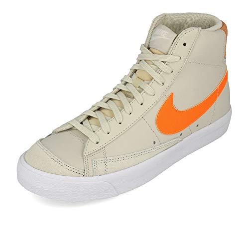 Nike WMNS Blazer Mid '77 Light Bone Total Orange Orange Trance EUR 41
