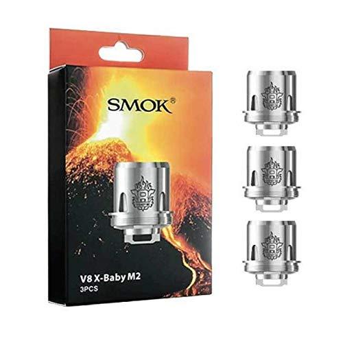 Widerstand für Smok TFV8 X-baby Coil Spule M2 Q2 X4 T6 Original (kein Nikotin) M2 0.25ohm (30-50W)