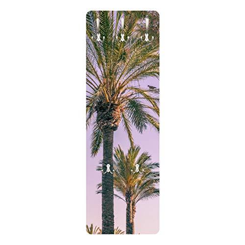 Bilderwelten Perchero - Palm Trees In The Sunset 139 x 46cm