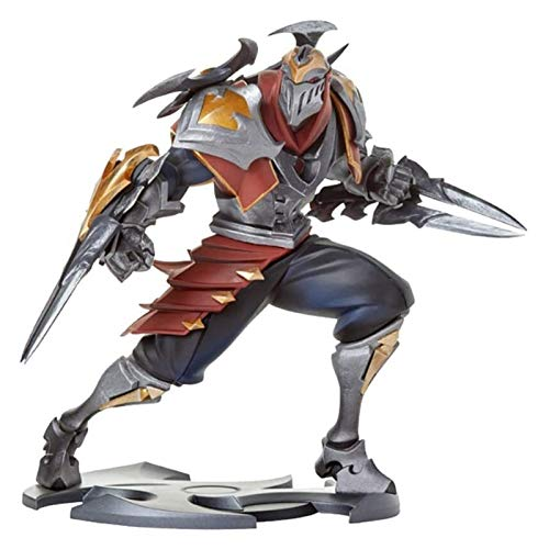 ZJSXIA for League of Legends Game Figures, LOL Series Figures/ZED XL Statue, Exquisite and Cool Resin Models, Perfect Collections for Desktop Placement Or Display Cabinets Anime Toy