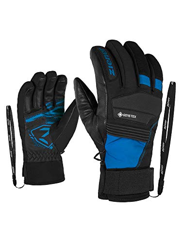 Ziener Gloves Gil Guantes De Esquí Gore Tex De Hombre, Hombre, Persian Blue, 9