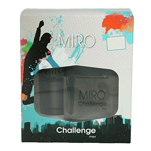 Miro Challenge 100 ml Eau de Toilette Spray + 200 ml Duschgel