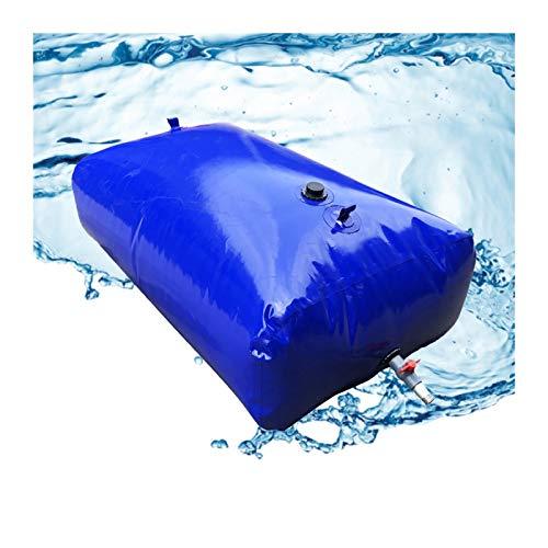 Almacenamiento de agua Recipiente PVC Vejiga De Agua De Gran Capacidad Sin BPA Plegable Al Aire Libre Patio Emergencia Tamaño Personalizado ZLINFE (Size : 1500L/1.8x1.2x0.7M)