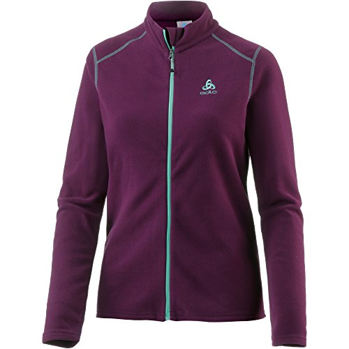 Odlo Damen Midlayer Full Zip LE Tour Fleecejacken, Pickled Beet, L