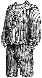 sailor suit sewing pattern