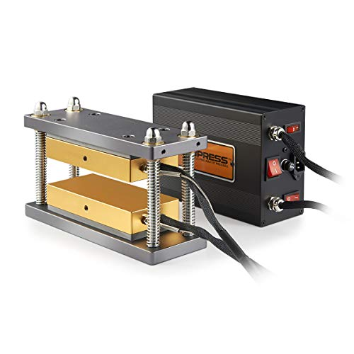 New 3x7 Inch DIY Caged Heat Press Plates Kit - Build A 10-20 Ton Press
