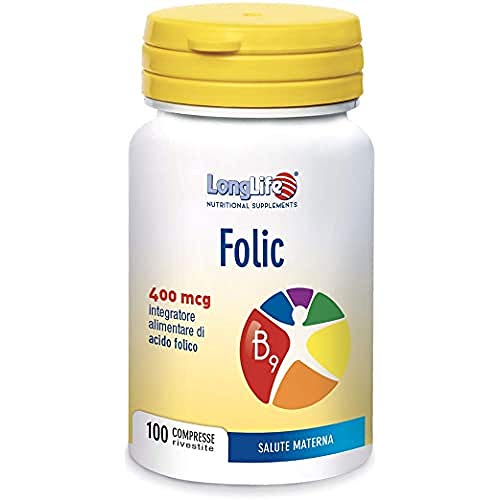 Longlife Folic 400 Mcg - 40 Gr