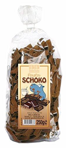 Schokoladen-Bandnudeln