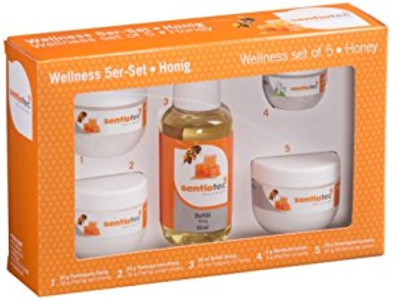Sentiotec Wellness set of 5, honey