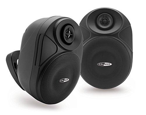 Caliber hsb602BT/B - Bluetooth Lautsprecher Wasserdicht Außenwand 16,5 cm weiß