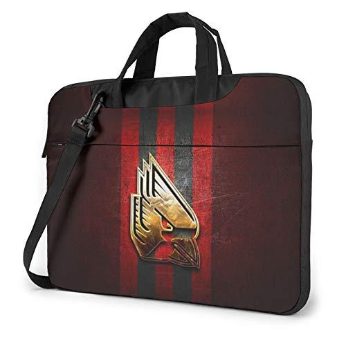 Ball-State-Cardinals-Golden-Red Laptop Bag Durable Computer Bag Briefcase Shoulder Bag Shock Protection Shoulder Computer Bag for Men,Women,Computer Bag Suitable for Computer/Laptop/MacBook 14 inch