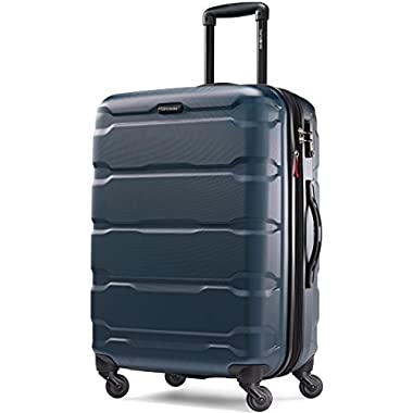 Samsonite Omni PC Hardside Spinner 24, Teal, One Size