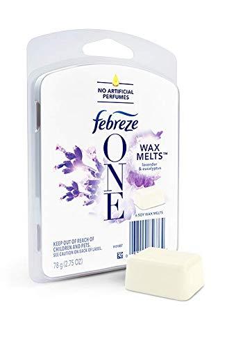 Febreze ONE Wax Melts, Lavender & Eucalyptus, (1 count, 2.75oz)