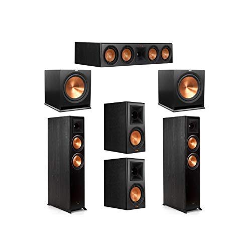 Purchase Klipsch 5.2 System with 2 RP-6000F Floorstanding Speakers, 1 Klipsch RP-504C Center Speaker...