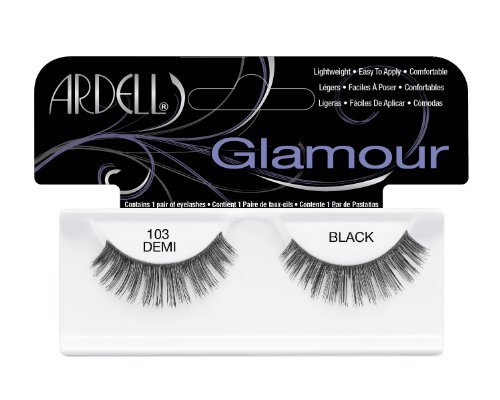 Ardell 103 Natural Lash, Black by Ardell (English Manual)
