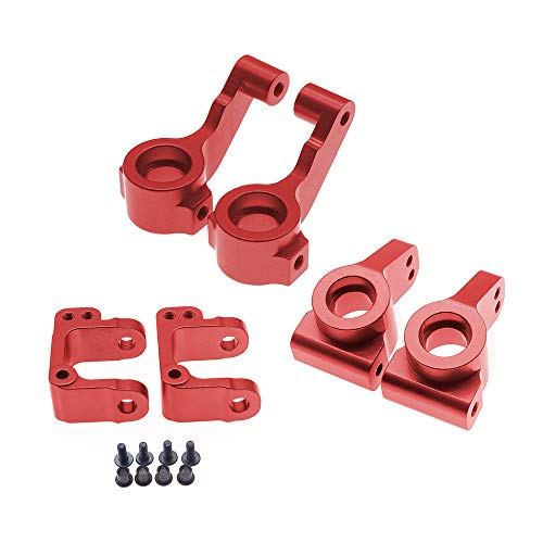 2Pcs Alloy Knuckle Steering Arm Rear Hubs for RC Car 1/10 ECX 2WD Series Parts