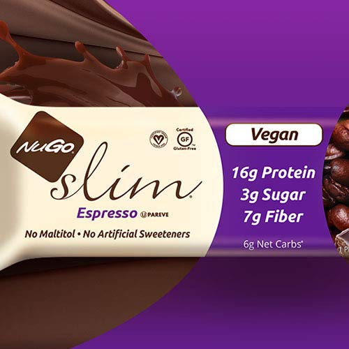 Nugo Slim Bar x 12 (Espresso 12 Bars)