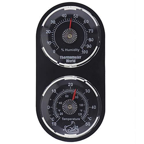 Twin Reptile Tank Thermometer Hygrometer–Monitor Temperatur und Luftfeuchtigkeit im Terrarium