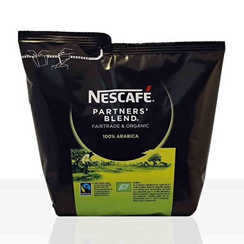 Nescafé Partners Blend, Beutel, 100% Löslicher Bio-Kaffee für Heißgetränkeautomaten, 250 g, 12232636