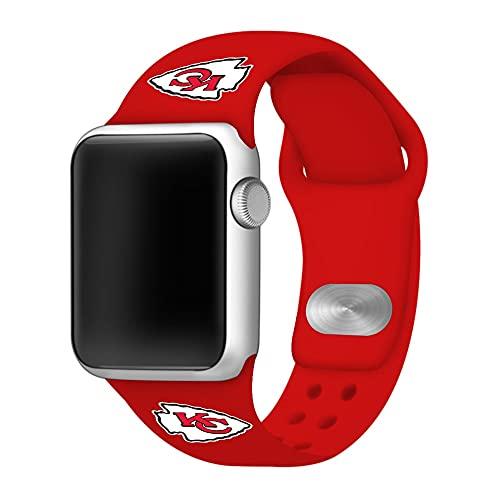 Artinian Red Kansas City Chiefs 38-40mm Apple Watch Sports Band