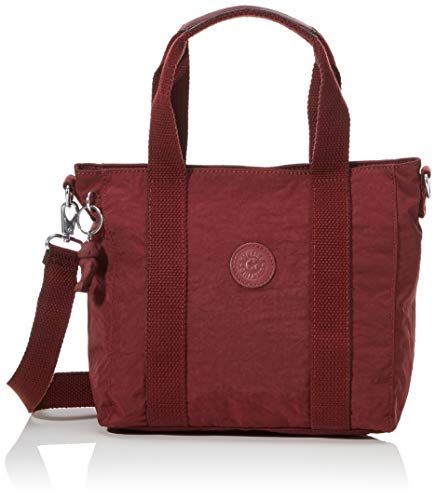 Kipling Women's ASSENI Mini Top-Handle Bags, Intense Maroon, 33x21x14...