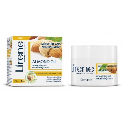 Lirene - Mandelöl glättende und nährende Creme (50 ml)