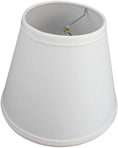 FenchelShades com Lampshade 5 Top Diameter x 9 Bottom Diameter x 7 Slant Height with Clip On product image