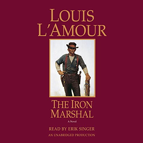 The Iron Marshal audiobook cover art