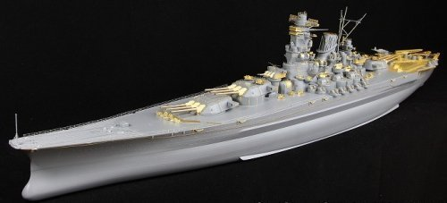 Detail Up Parts Set For IJN Battleship Yamato (Plastic model)