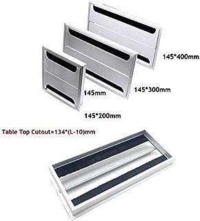 Rectangle Aluminum Office Table Tv Cabinet Desk Wire Cable Hole Brush, Bathroom Organizer Tray - Feet for Furniture, ES Desk Pad, Floor Vase Set, Table Pop Up, Laptop Desk Pad