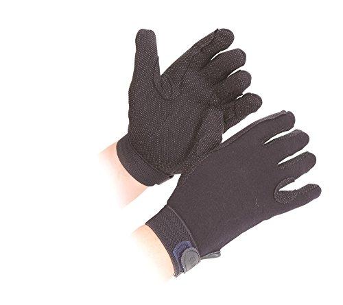Shires Newbury Childs Kids Cotton Gloves Navy Blue Small
