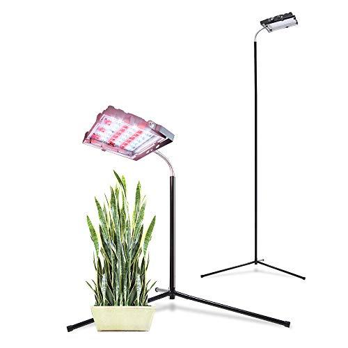 Aceple 35W LED luz de cultivo espectro completo para plantas de interior vegetales y flores, luces LED de cultivo de plantas, lámpara de crecimiento para plantas hidropónicas de interior