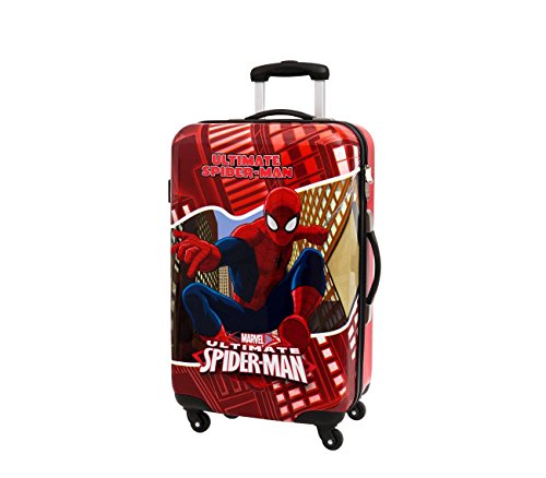 4451551 Trolley da viaggio rigido Spiderman in ABS 67 x 42 x 24 cm. MEDIA WAVE store