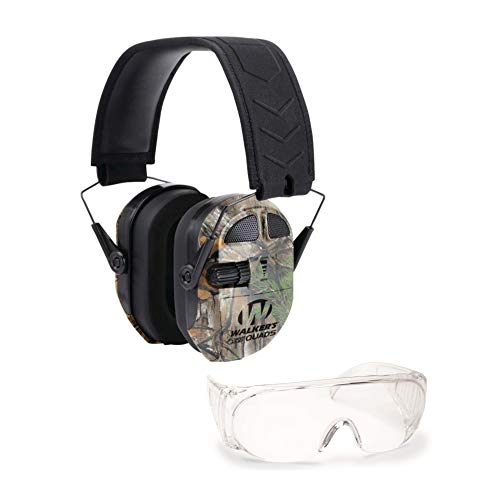Find Discount Walkers Game Ear Ultimate Power Quad Hearing Protection Muffs (Realtree Xtra Camo) wit...