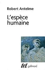 L'espèce humaine de Robert Antelme