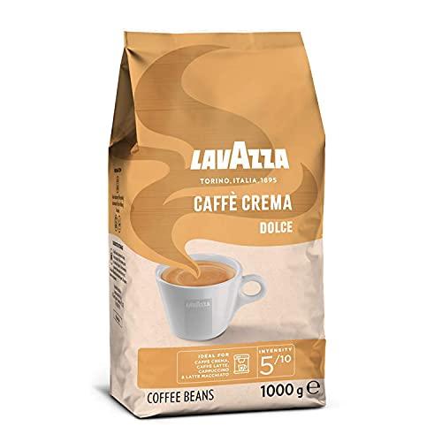 Lavazza Caffè Crema Dolce, 1kg-Packung, Arabica und Robusta, Mittlere Röstung