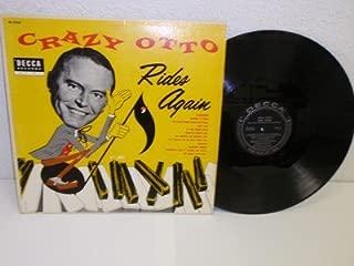 CRAZY OTTO Rides Again LP Decca DL 8163 MONO ORIG Vinyl Record Album