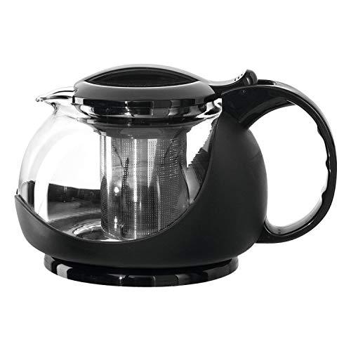 montana :assam Teekanne, Volumen 1,2l, B/H/T: 19,6/12,3/15,2cm, Klarglas, Kunststoff und Edelstahl, 050250