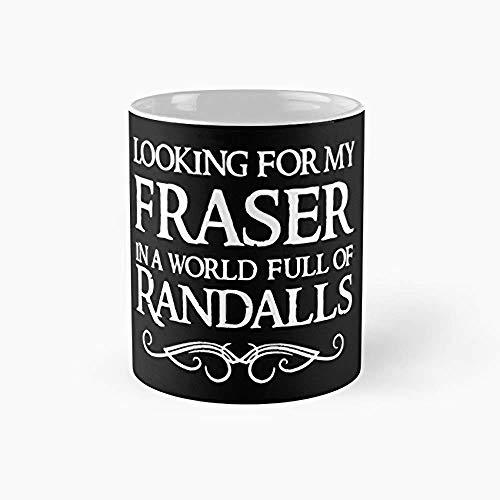 XCNGG Outlander Jamie Fraser Merch Merchandise Tazas de café de 11 onzas