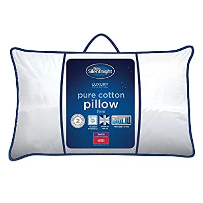 Silentnight Luxury Pure Cotton Cover Sleeper Pillow